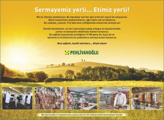 Pehlivanoğlu et entegre Pehlivanoğlu ilan tasarımı et ilanı Yerli Sermaye