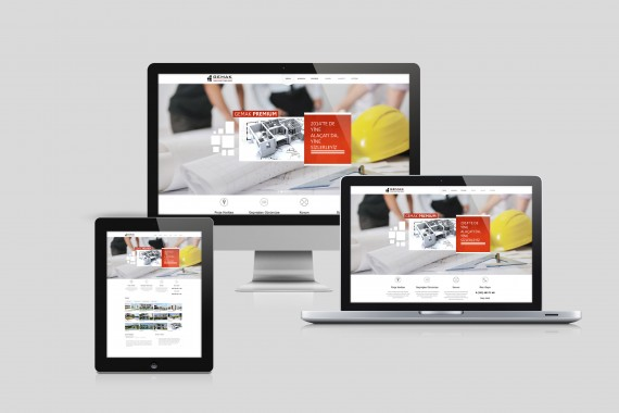 web tasarımı web tasarımı mockup