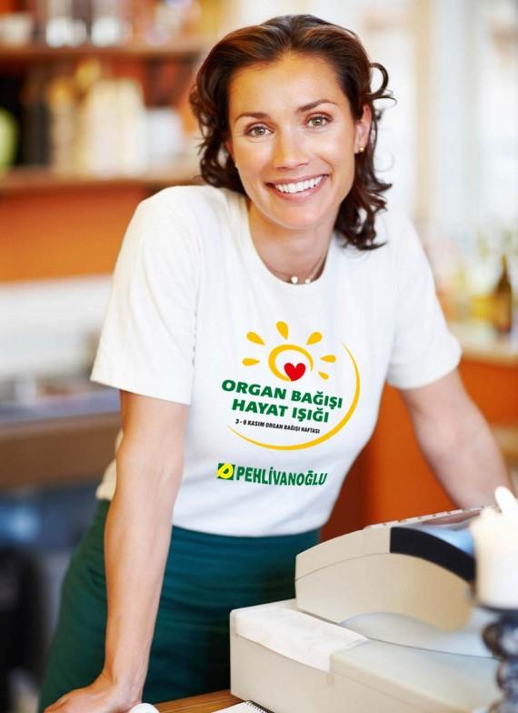 Organ Bağışı Sosyal Sorumluluk Projesi Pehlivanoğlu sosyal sorumluluk projesi organ bağışı sağlık bakanlığı föy tasarımı broşür tasarımı tshirt baskısı